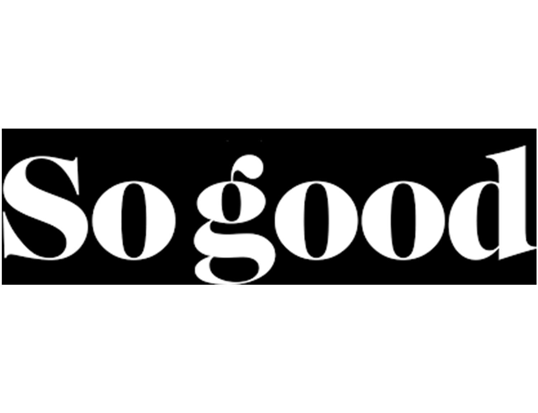 Logo SO GOOD